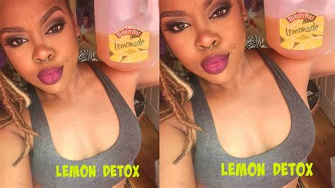 After Detox From by My Experience With The Lemon Detox Master Cleanse