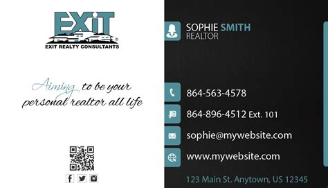 exit realty business cards template exit realty business cards unique exit realty business