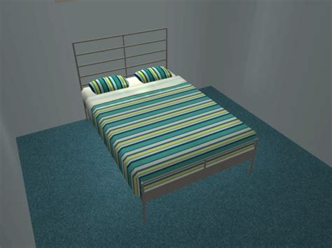 Heimdal Bed Frame Mod The Sims Heimdal From Ikea