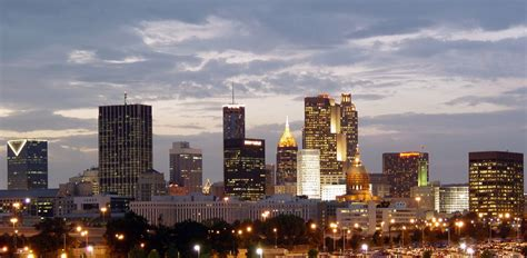Best Mba In Atlanta by Atlanta Skyline From Turner Stadium A Photo On Flickriver