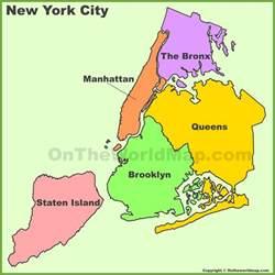 map usa new york city new york city boroughs map