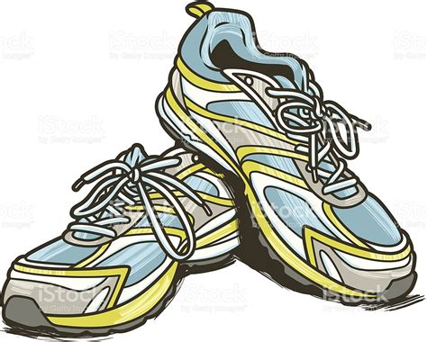 running shoes vector running shoes c stock vector 479628201 istock
