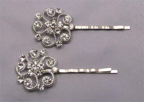 rhinestone bobby pins pins decorative jeweled