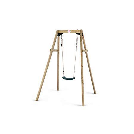 plum wooden single swing plum wooden single swing departments diy at b q