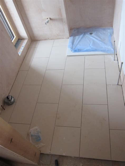 bathroom floors without grout week 40 day 4 marsh flatts farm self build diary