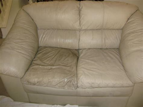 white spots on leather couch how to clean leather furniture fibrenew
