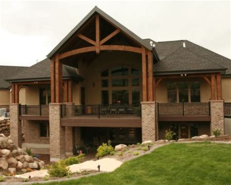 home designer pro walkout basement covered deck designs ideas pictures remodel and decor