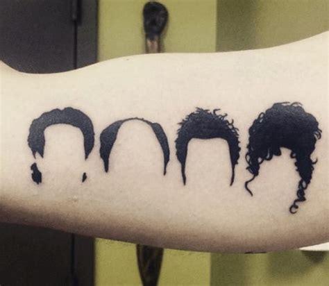seinfeld tattoo tattoos seinfeld elaine jerry kramer george geeky stuff