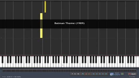 piano tutorial up theme how to play batman theme 1989 piano tutorial