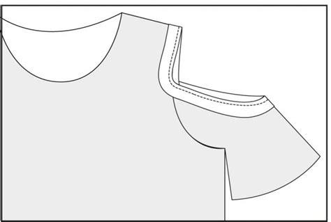 pattern allowance in moulding cold shoulder tutorial hey june handmade