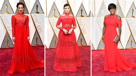 Oscars Trend On by Oscars Carpet Dresses And Trends 2017