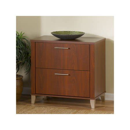 bush furniture somerset lateral file cabinet in hansen