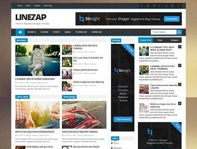 linezap news blogger template 187 abtemplates com