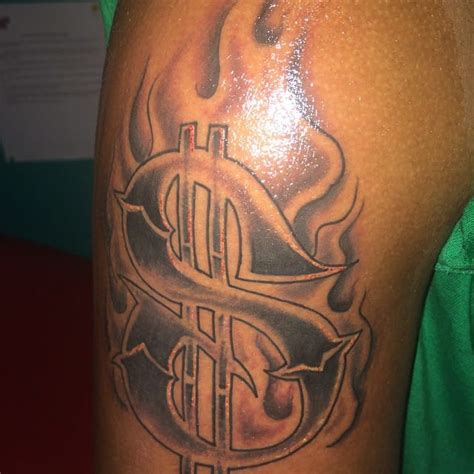dollar sign tattoos dollar sign outlines pictures to pin on