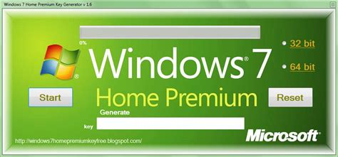 windows 7 home premium key generator v 1 6