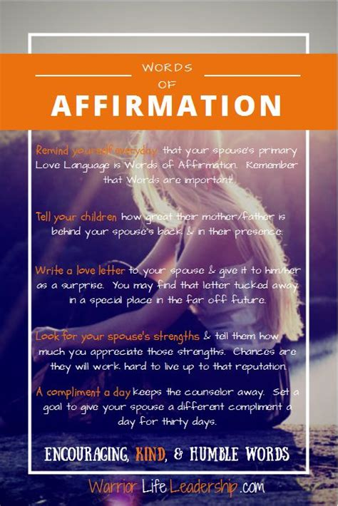words  affirmation   easiest    love