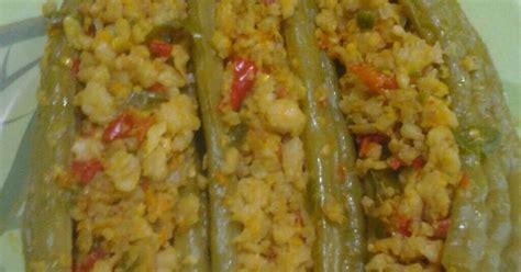 resep pare isi ikan delai oleh nova pai cookpad
