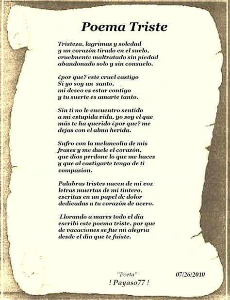 poemas cortos de tristeza poemas tristes poemas tristes de