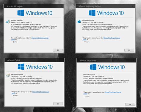 The Version by Find Windows 10 Version Number Windows 10 Tutorials
