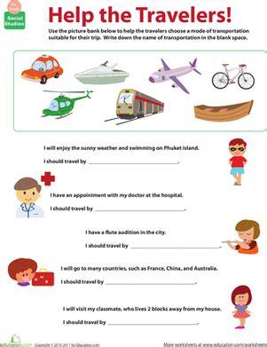 transportation  mode teaching social
