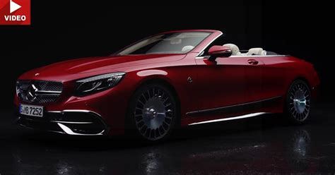 mercedes maybach s650 cabriolet debuts on