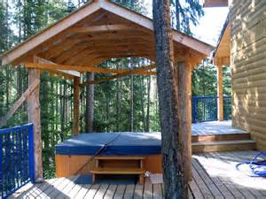 outdoor tub designs landscaping gardening ideas