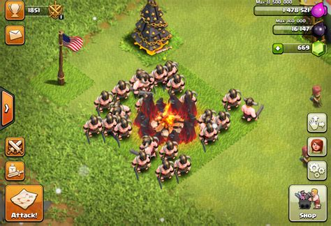 Coc Barbarian3 clash of clans barbarian tips stats levels clash of