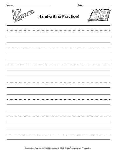 cursive writing paper handwriting paper template to help aiden learn
