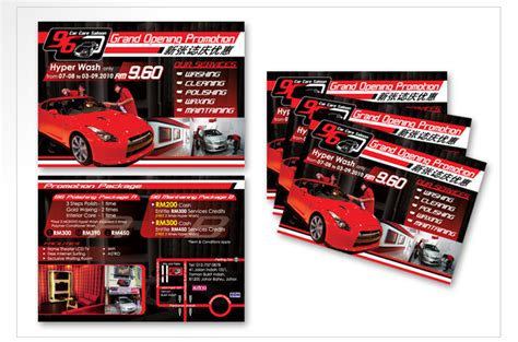 flyer design malaysia flyer design johor bahru car wash center promotion