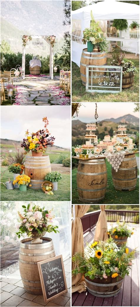 Outdoor Country Wedding Decorations Country Wedding Country Backyard Wedding Ideas