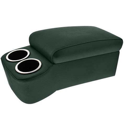 bench seat console green narrow bench seat cruiser console cupholdersplus com