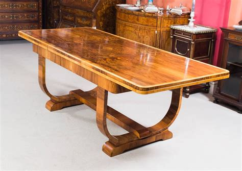 Antique Dining Room Furniture 1930 Antique Deco Burr Walnut Dining Table Circa 1930 At 1stdibs