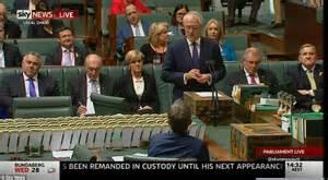 Mrabbott Pit Malcolm Turnbull Prepares To Be Sworn In As Australia S Prime Minister Daily Mail