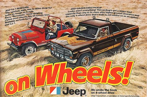 vintage jeep ad vintage jeep ad golden eagle pickup jeep ads