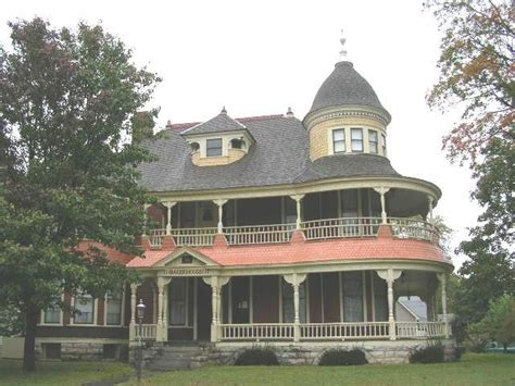 The Baker House by Historic Horace M Baker House Carthage Missouri