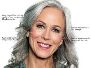 best color for gray hair 4 best makeup for gray hair