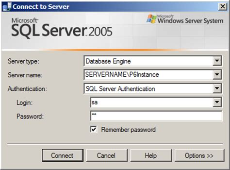 how to install a new instance of microsoft sql server 2005