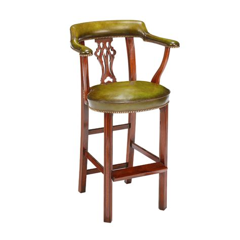 mahogany bar stool titchmarsh goodwin