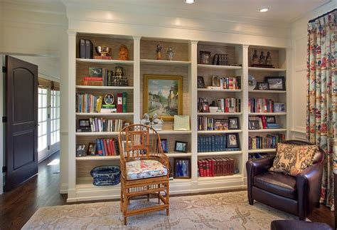 trendy bookshelves 20 living rooms with the textural of grasscloth