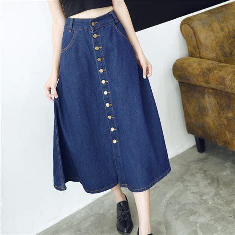 aliexpress buy new casual jean skirt 2015