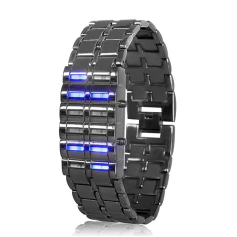 Ice Lamp by Wholesale Led Watch Binary Watch From China