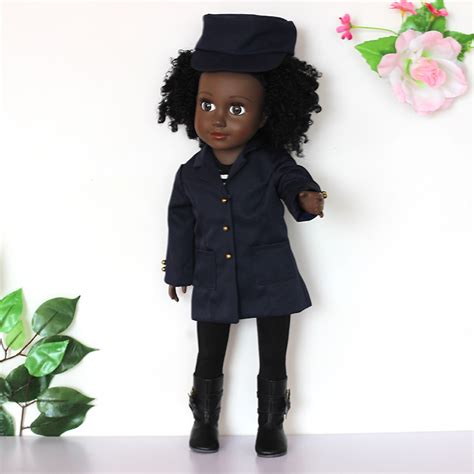 black doll 18 inch 18 inch black baby doll dressed in doll clothes buy 18