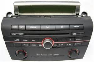 2006 2007 mazda 3 factory stereo 6 disc changer cd player