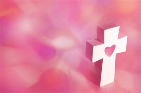 Twicecoaster 2 B Vers Pink Cross With Pink Background Christian Wallpapers