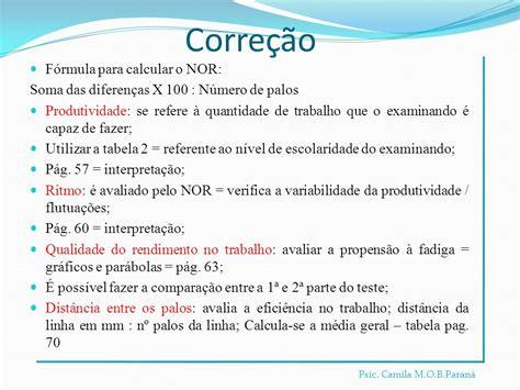 Mba Psicologia by Exame Palogr 225 Fico Teste Palografico Historico E Aplicacao