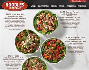 Noodles And Company Post 171 Buff Up With New Noodles Co Menu Option 187 In
