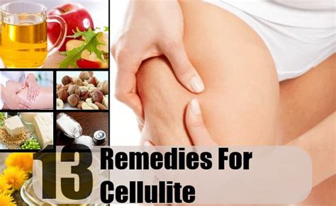 Home Remedies For Cellulitis by 13 Home Remedies For Cellulite Treatments Cure