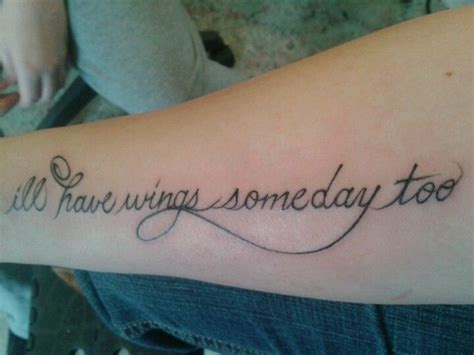 small in memory tattoos memorial the words ideas