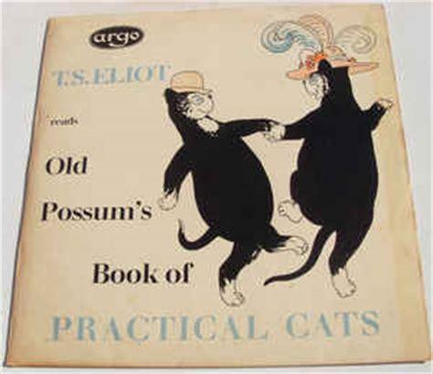 Possum S Book Of Practical Cats t s eliot possum s book of practical cats vinyl lp at discogs