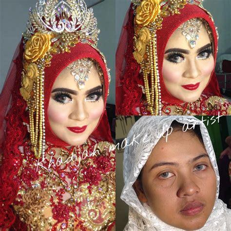 Make Up Khadijahazzahra sentuhan mekap wanita ini mu mengubah wajah pelanggannya 360 darjah wow